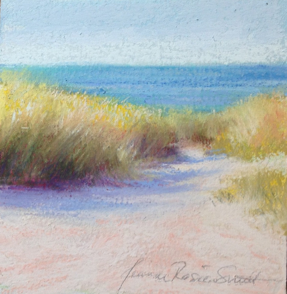*SOLD* 'SUMMER PATH' BY JEANNE ROSIER SMITH