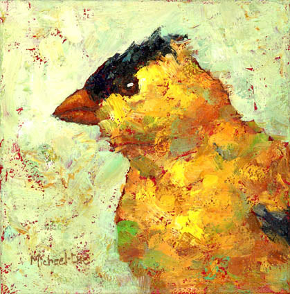 "*SOLD* ""TO THE FINCHES"" BY MICHEAL-CHE SWISHER"