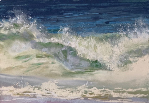 *SOLD* 'WET & WILD' BY JEANNE ROSIER SMITH