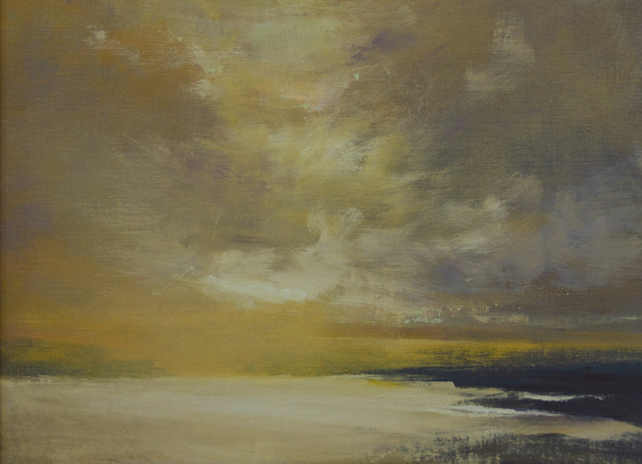 *SOLD* 'GOLDEN GLOW' BY ANNA WAINRIGHT