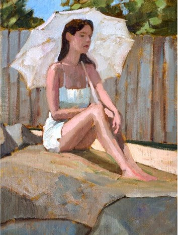 'WOMAN IN WHITE' BY PAUL SCHULENBURG