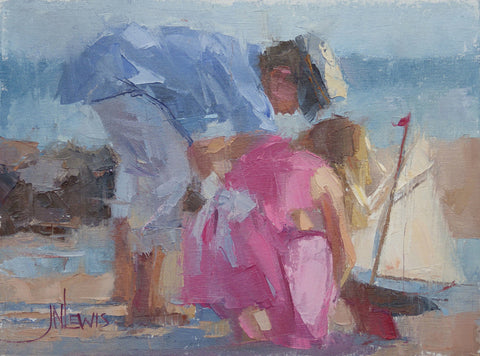 "*SOLD* ""CAPTAIN & CREW"" BY JAMES NELSON LEWIS"