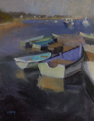 'FISHERMAN'S DOCK'' BY SUE GILKEY