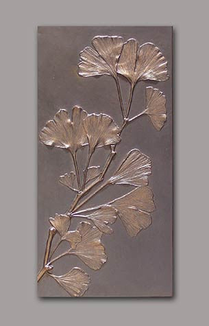 SINGLE GINGKO PANEL BY DEB CHILDRESS