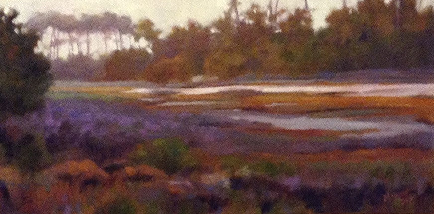 'LATE AFTERNOON SALT MARSH' BY MARY SEGARS