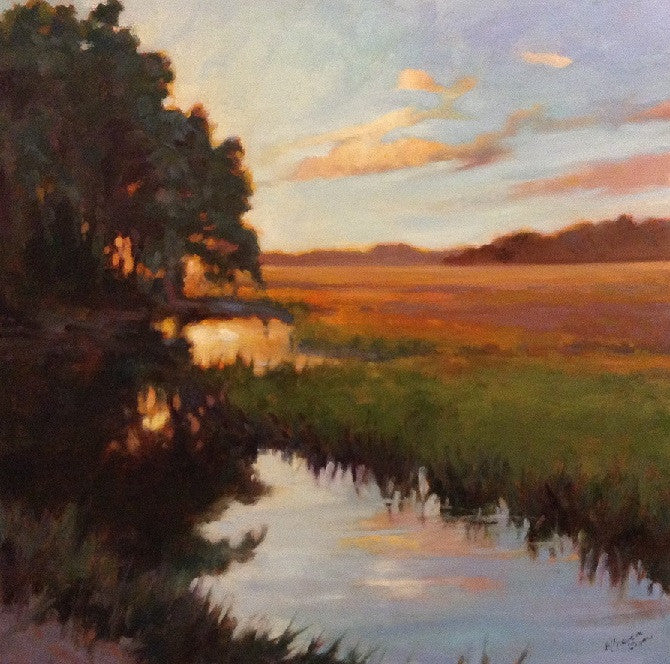 'NEARLY SUNSET' BY MARY SEGARS