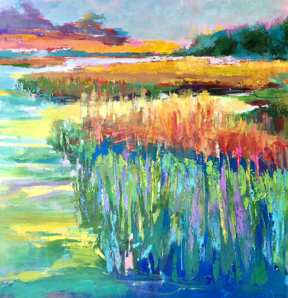 *SOLD* 'RADIANT MARSH' BY ANN WATCHER