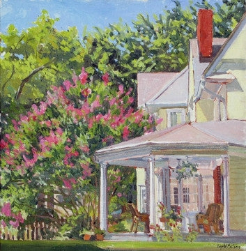 """SIDE PORCH"" BY CRYSTAL MOLL"