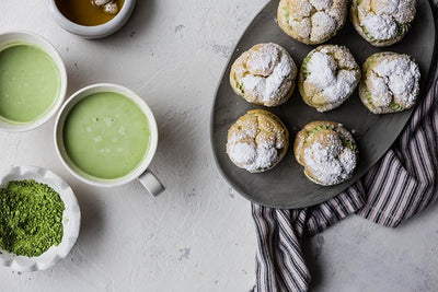 Matcha Cream Puff Recipe
