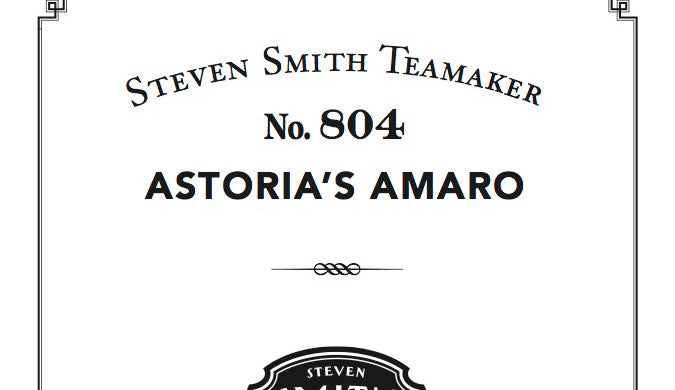 Astoria's Amaro Recipe Book