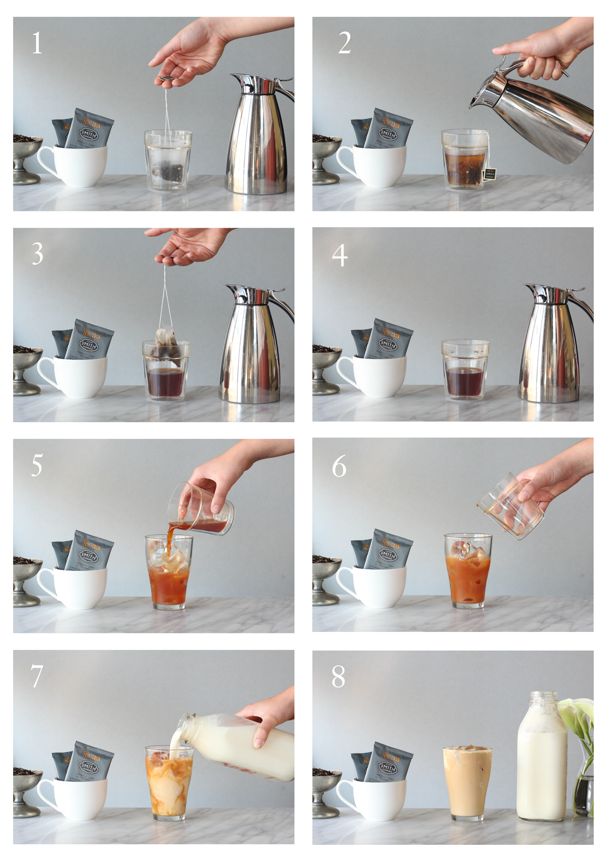 How to Make an Iced Chai Latte