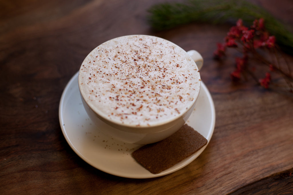Hot Buttered Silent Night Latte