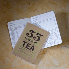 33 Books Tea Tasting Journal