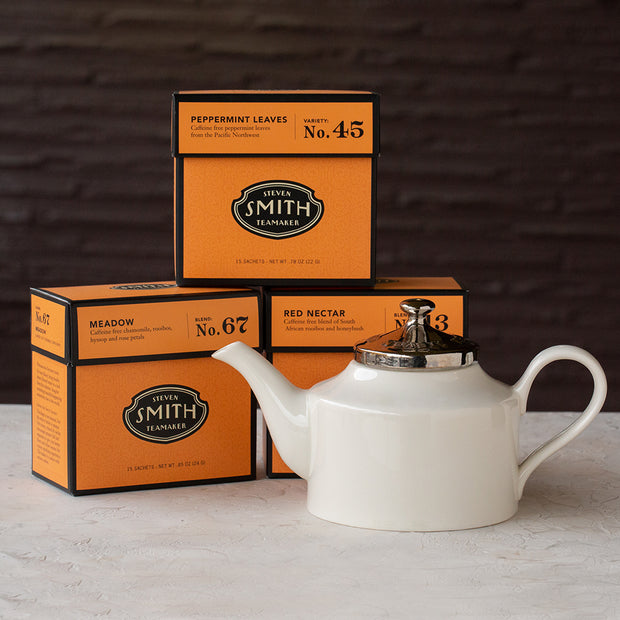 Herbal Infusions Best Sellers with Teapot