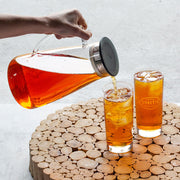 Flask Glass Iced Tea Jug