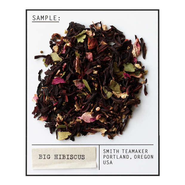 Smith Tea Big Hibiscus Caffeine Free Herbal Infusion