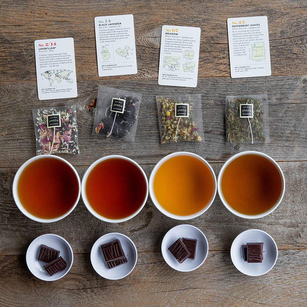 Tea & Chocolate: Tasting and Pairing Class