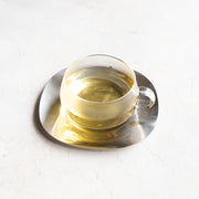 Unitea Glass Teacup with Saucer