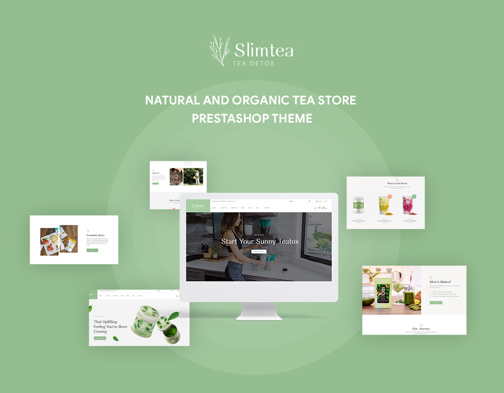 Leo Slimtea - Natural And Organic Tea Store Prestashop Theme