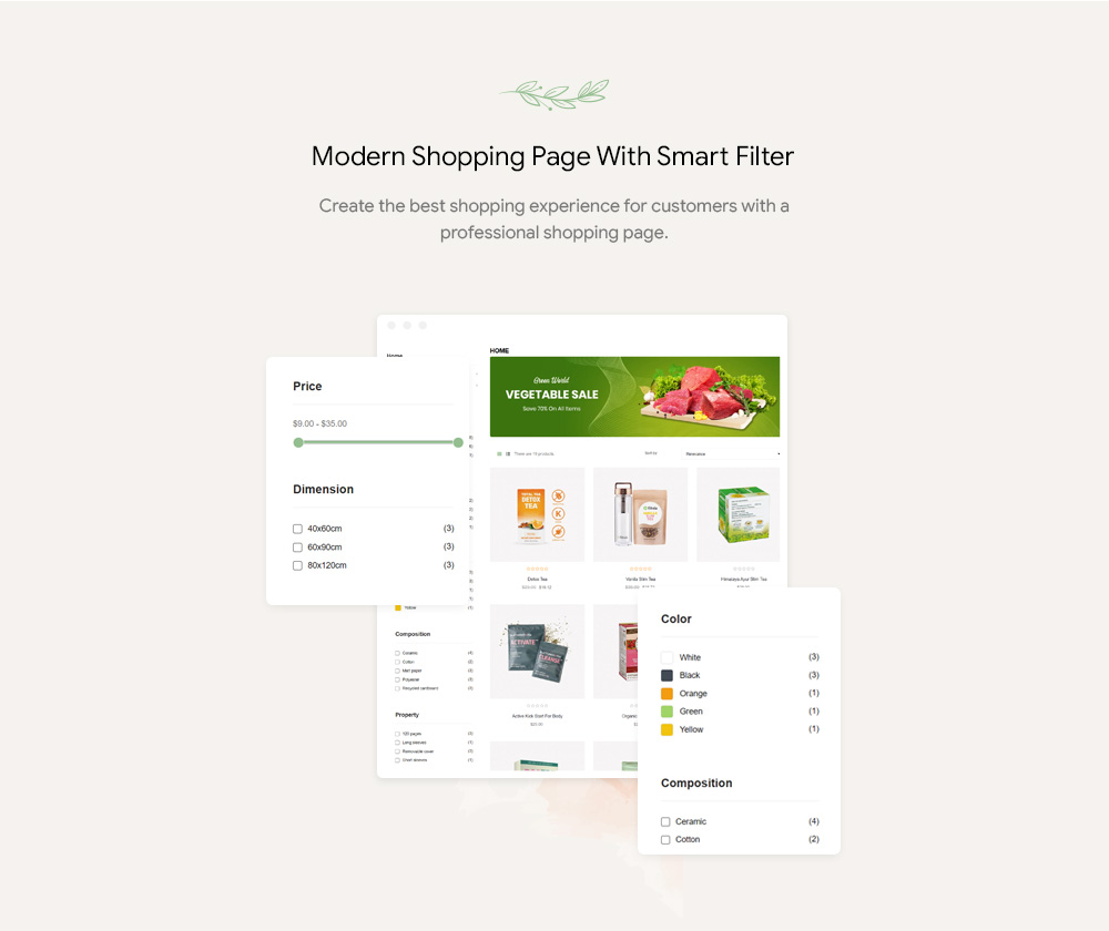 Leo Slimtea- Natural And Organic Tea Store Prestashop Theme
