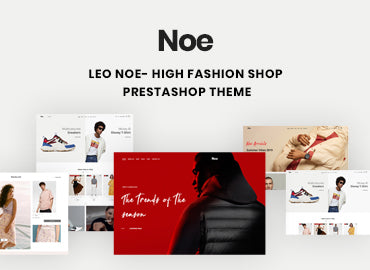 Leo Noe - High Fashion Shop Prestashop Theme