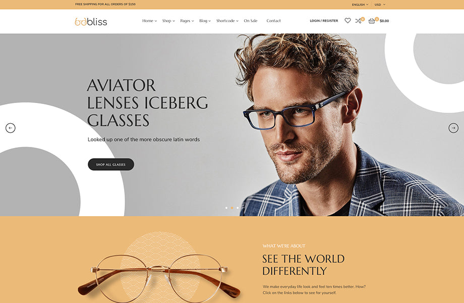 Leo Oobliss Glasses Store Responsive Prestashop Theme