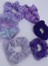 Load and play video in Gallery viewer, Royalty Scrunchie Set