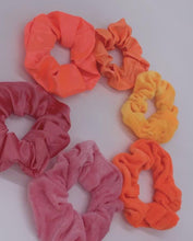 Load and play video in Gallery viewer, Tropical Paradise Scrunchie Set