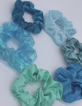Load and play video in Gallery viewer, Under the Sea Scrunchie Set