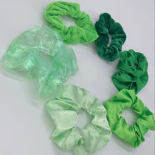 Load image into Gallery viewer, This Grass is Greener Scrunchie Set