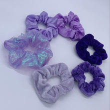 Load image into Gallery viewer, Royalty Scrunchie Set