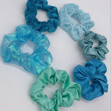 Load image into Gallery viewer, Under the Sea Scrunchie Set