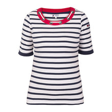 Lade das Bild in den Galerie-Viewer, Nautical T-Shirt mit Seil Applikation