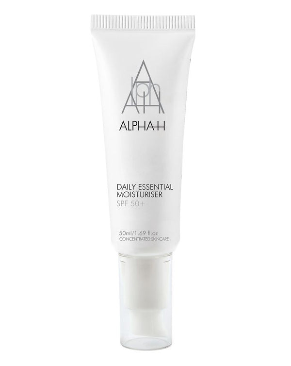 Alpha-H Daily Essential Moisturiser with SPF 50+ 50ml