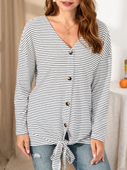 Stripes Shift Casual Shirts & Tops