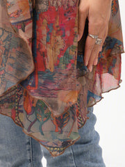 Tribal Holiday 3/4 Sleeve Outerwear