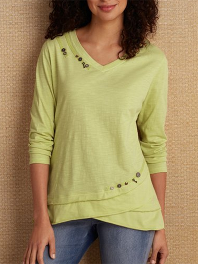 Women Casual Long Sleeve Tops
