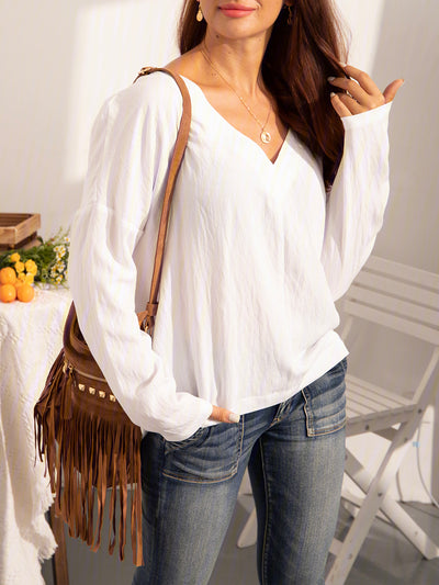 Long Sleeve Casual Cotton Shirts & Tops