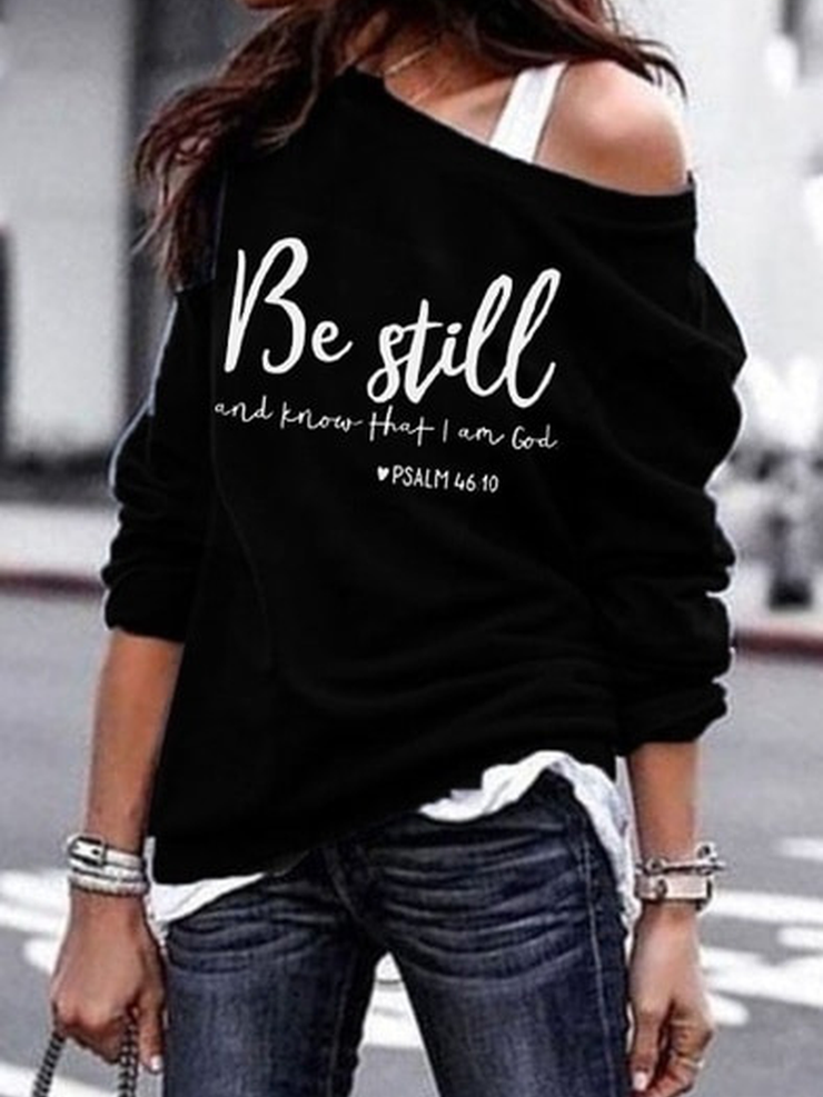 Long Sleeve Printed Shirts & Tops