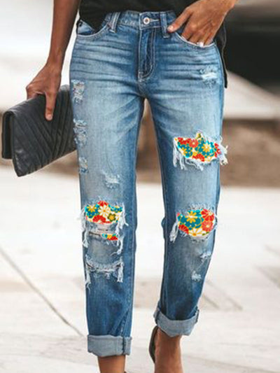 As Picture Vintage Denim Pants