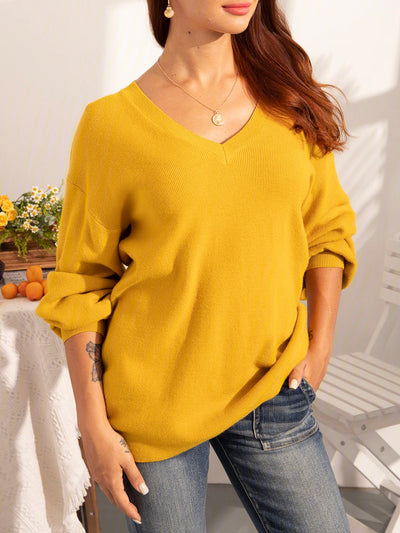 Ladies Warm Basic Sweater