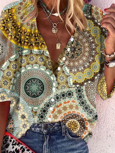 Floral Casual Shirts & Tops