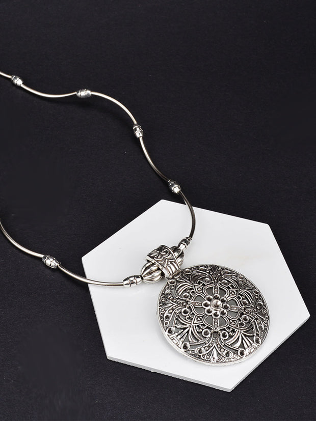 Casual Alloy Necklaces