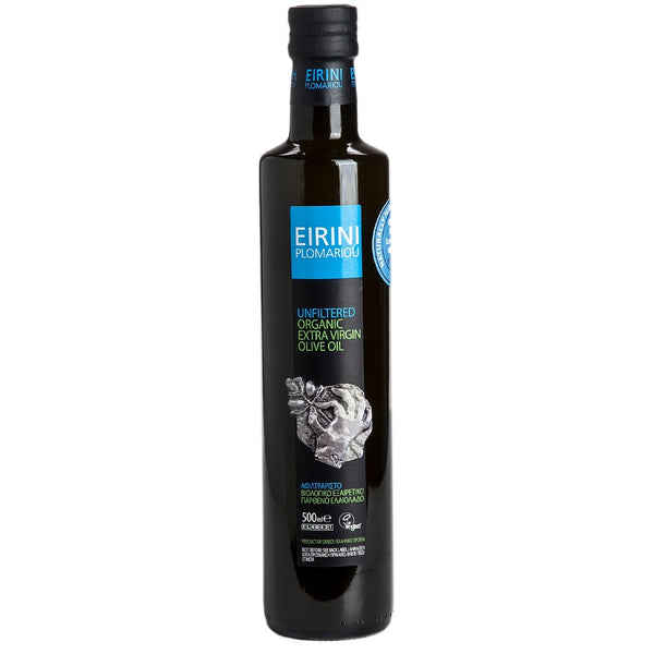 Eirini Plomariou Organic Extra Virgin Olive Oil from Lesvos (16.9 oz)