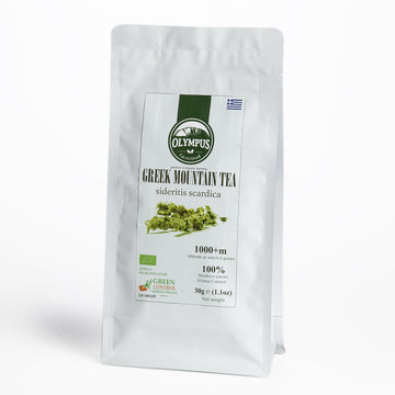 Organic Greek Mountain Tea - Mt. Olympus (30 g)