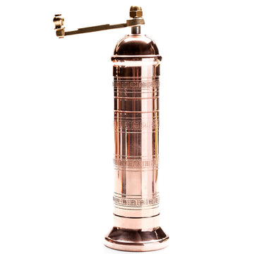 Traditional Copper Pepper Mill