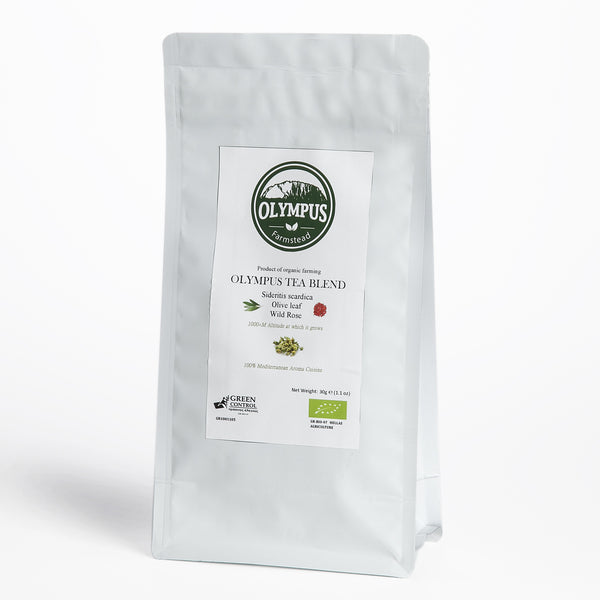 Mt. Olympus Tea Blend - Mountain Tea + Wild Rose + Olive Leaf (30 g)