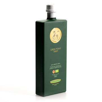 Greek Pony Farm Organic Extra Virgin Olive Oil - PDO Kalamata - 500ml (with Gift Box)