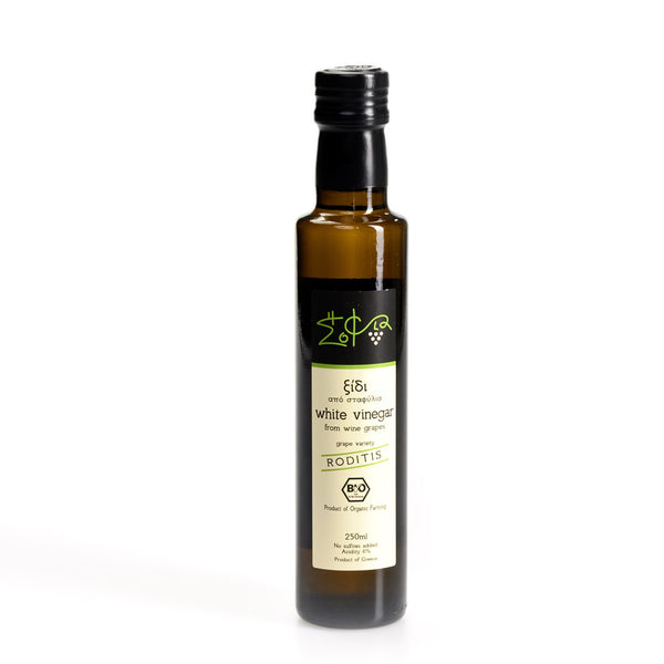 Organic White Wine Vinegar (8.5 oz)