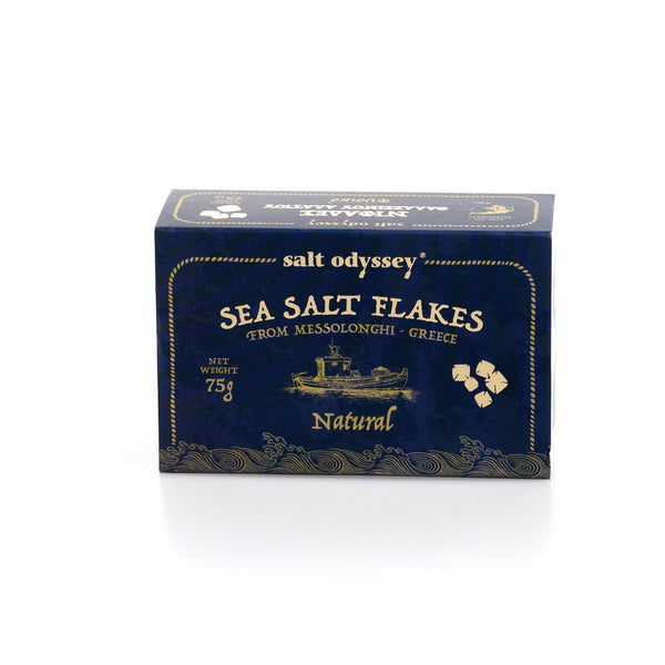 Sea Salt Flakes from Messolonghi (2.65 oz)